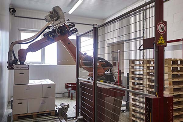 Investment through Kuka robot